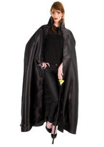 cape noire halloween, cape halloween adulte, cape satin noir déguisement, cape déguisement halloween, cape adulte halloween, cape noire adulte halloween, Cape Noire, Satin