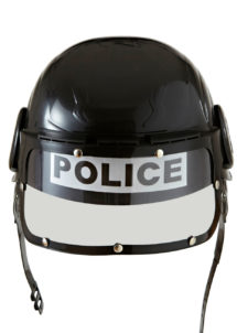 casque de police, accessoires déguisements policier, déguisement de police, accessoires police, Casque de Police
