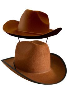 chapeau de cowboy, chapeaux de cowboys, chapeaux de cow boy, accessoires déguisement cowboy, Chapeau de Cowboy, Houston, Marron
