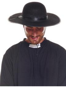 chapeaux de curé, chapeau de curé, chapeau de curé de campagne, déguisement de curé, Chapeau de Curé de Campagne