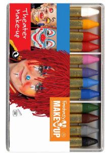crayons à maquillage, crayon gras à maquillage, crayon gras maquillage, crayon à maquillage déguisement, maquillage déguisement, crayon maquillage halloween, crayon maquillage fête, crayon maquillage gras, palette crayons maquillage, Crayons Gras à Maquillage, x 12