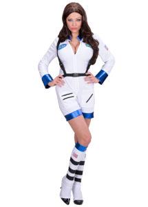 déguisement d'astronaute femme, déguisement de cosmonaute femme, déguisement futuriste, costume d'astronaute femme, costume cosmonaute femme déguisement, déguisement femme, Déguisement d'Astronaute Sexy