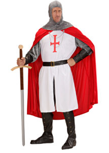 déguisement de chevalier homme, costume chevalier homme, déguisement chevalier adulte, costume médiéval homme, déguisement médiéval homme, Déguisement Médiéval, Chevalier Croisé