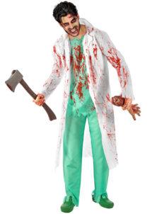 déguisement halloween homme, costume halloween homme, déguisement homme halloween, déguisement chirurgien halloween, costume chirurgien halloween, déguisement médecin halloween, costume médecin halloween, déguisement halloween adulte, Déguisement de Chirurgien Zombie