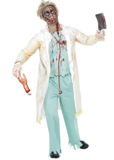 déguisement de chirurgien, déguisement chirurgien homme, costume chirurgien, déguisement de chirurgien zombie, déguisement halloween, déguisement chirurgien halloween, Déguisement de Médecin, Chirurgien Zombie