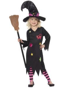 déguisement de sorcière enfant, déguisement halloween fille, déguisement halloween enfant, déguisement sorcière halloween enfant, déguisement sorcière halloween fille, costume halloween enfant, costume sorcière fille, Déguisement de Sorcière Chat, Fille