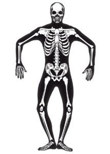 déguisement squelette homme, déguisement squelette halloween, déguisement halloween adulte, déguisement halloween homme, déguisement squelette homme, Déguisement Squelette Phosphorescent