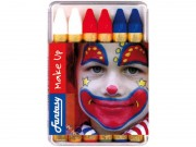 maquillage france, maquillage tricolore, crayons bleu blanc rouge, boutique supporter, accessoires euro 2016, accessoires supporter, maquillage euro 2016 Crayons Gras à Maquillage France, Bleu Blanc Rouge