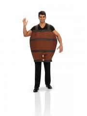 déguisement tonneau de vin, déguisement comique Déguisement Tonneau de Vin