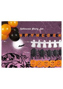 kit décoration halloween, décorations halloween, accessoire déco halloween, guirlandes halloween, décos halloween, accessoire halloween, décorations pour halloween, Kit de Décorations Halloween