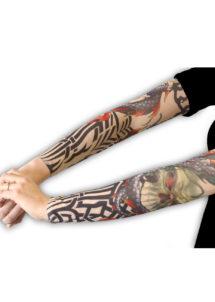 manches tatouages, accessoires déguisement, faux tatouages, manches tatouages déguisement, Manches Tatouages