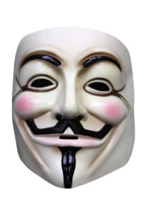 masque v pour vendetta, masque anonymous, masque de déguisement, masque anonymous paris, accessoire déguisement anonymous, Masque Anonymous, V pour Vendetta™