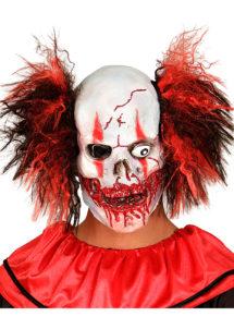 masque clown zombie, masque de déguisement, accessoire masque déguisement, masque de clown effrayant, accessoire masque halloween, déguisement clown halloween, déguisement halloween masque clown, Masque de Clown Zombie, Latex