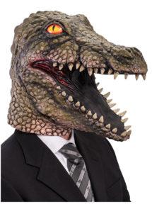 masque de crocodile, masque animal latex, masques latex, masques animaux, Masque Crocodile, Latex