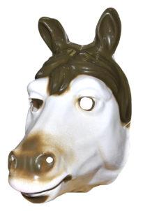 masque de cheval, masque de déguisement, masque animal pour enfant, masques d'animaux enfants, masque de cheval plastique, Masque de Cheval