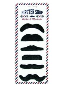 , Moustaches Noires x 6