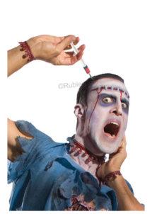 serre tête seringue, accessoire halloween déguisement, accessoire déguisement halloween, accessoire horreur déguisement, Serre Tête Seringue