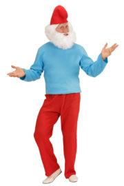 déguisement de schtroumpf, déguisement schtroumpf adulte, costume de schtroumpf, déguisement de nain adulte, costume de nain, déguisement de BD Déguisement Grand Nain