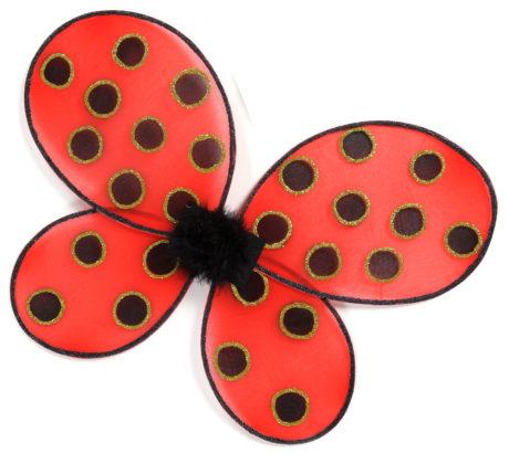 ailes de déguisement, ailes pour se déguiser, ailes de coccinelle, Ailes de Coccinelle pour Enfant