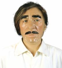 masque transparent, masque halloween, masque adulte original, masque visage adulte, Masque Transparent, Homme