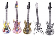 guitare électrique gonflable, guitare déguisement, accessoire rock déguisement, accessoire chanteur déguisement, fausse guitare électrique déguisement Guitare Electrique Gonflable