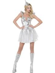 déguisement futuriste femme, déguisement extraterrestre femme, costume futuriste femme, costume femme futuriste, costume futur femme Déguisement Fever Future Astronaute, Argent