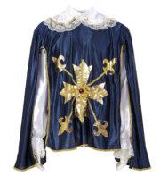 déguisement de mousquetaire, costume mousquetaire homme, tunique mousquetaire adulte, déguisement de mousquetaire Déguisement de Mousquetaire, Bleu et Or