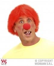 perruque pour homme, perruque pas chère, perruque de déguisement, perruque homme, perruque rouge, perruque geek, perruque plus, perruque de clown Perruque de Clown Plush, Rouge