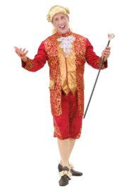 déguisement vénitien, costume vénitien, déguisement carnaval de venise, déguisement de marquis, costume de marquis déguisement, déguisement marquis adulte, déguisement marquis homme, déguisement baroque homme Déguisement de Marquis, Rouge et Or