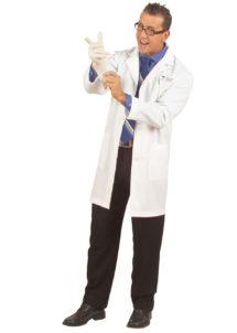 blouse blanche déguisement, déguisement médecin homme, déguisement médecin adulte, déguisement scientifique adulte, déguisement chercheur, accessoire déguisement, Blouse Blanche de Savant, Médecin ou Scientifique