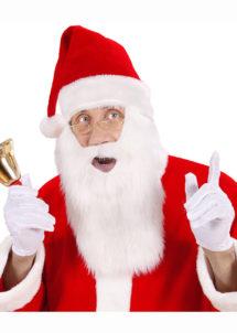 bonnet de noel, bonnet de noel avec barbe, bonnet de père noel, Bonnet de Père Noël, avec Barbe