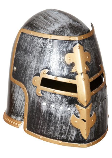 casque de chevalier, casque médiéval, accessoires déguisement médiéval, accessoires chevaliers, casques moyen âge, Casque de Chevalier