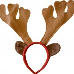 serre tete renne marron, accessoire renne déguisement, accessoire déguisement de renne, accessoire déguisement noël, accessoire noël déguisement Cornes de Renne Marron