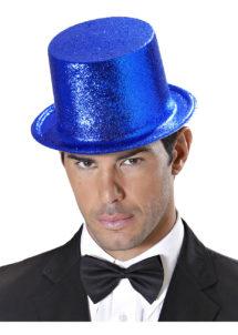 chapeaux paillettes, chapeaux hauts de forme paillettes, chapeaux hauts de forme, chapeau haut de forme, chapeaux paris, chapeaux hauts de forme, Chapeau Haut de Forme à Paillettes, Bleu