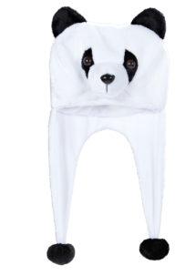 chapeau de panda, chapeaux d'animaux, chapeaux humoristiques, accessoires déguisement de panda, Chapeau de Panda