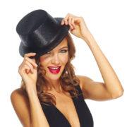 chapeaux paillettes, chapeaux hauts de forme paillettes, chapeaux hauts de forme, chapeau haut de forme, chapeaux paris, chapeaux hauts de forme Chapeau Haut de Forme à Paillettes, Noir