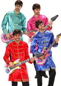 déguisement musique, déguisement années 60, déguisement beatles, Déguisement Music Band, Beatles