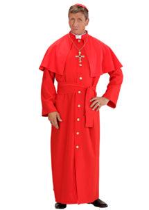 déguisement de cardinal, costume cardinal homme, déguisement cardinal homme, déguisement religieux homme, costume de religieux homme, Déguisement de Cardinal, Rouge