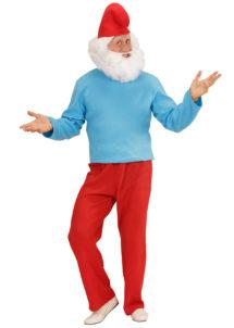 déguisement de schtroumpf, déguisement schtroumpf adulte, costume de schtroumpf, déguisement de nain adulte, costume de nain, déguisement de BD, Déguisement de Grand Nain