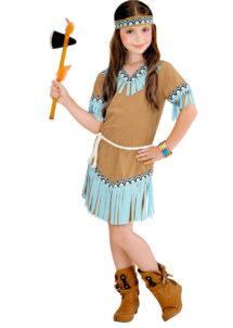 déguisement indienne enfant, déguisement indienne fille, déguisements filles, costume indienne fille, Déguisement d'Indienne Turquoise, Fille
