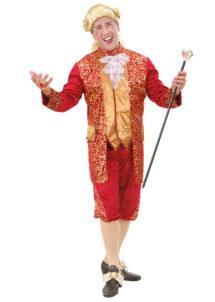 déguisement vénitien, costume vénitien, déguisement carnaval de venise, déguisement de marquis, costume de marquis déguisement, déguisement marquis adulte, déguisement marquis homme, déguisement baroque homme, Déguisement de Marquis, Rouge et Or