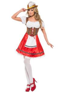 déguisement de bavaroise, déguisement Oktoberfest, costume bavaroise femme, costume Oktoberfest femme, Déguisement de Bavaroise