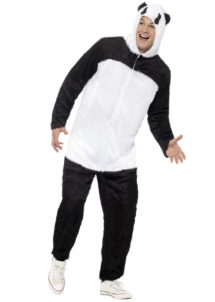 déguisement de panda adulte, costume panda homme, déguisement animal adulte, déguisement panda, Déguisement de Panda, Combinaison