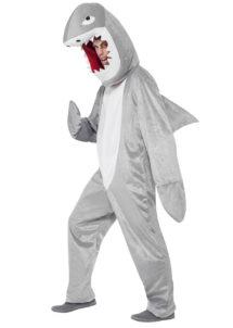 déguisement de requin, costume de requin, déguisement requin adulte, déguisement animal adulte, déguisement animal homme, Déguisement de Requin, Combinaison + Coiffe