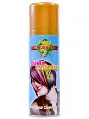 laque or, bombe couleur pour cheveux, laque cheveux, laque coloration cheveux, spray couleurs pour cheveux, sprays colorants cheveux, spray doré cheveux Laque Dorée, Coloration de Cheveux Or