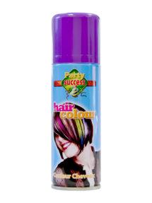 laque violette,bombe couleur pour cheveux, laque cheveux, laque coloration cheveux, spray couleurs pour cheveux, sprays colorants cheveux, spray violet cheveux, Laque Violette, Coloration de Cheveux