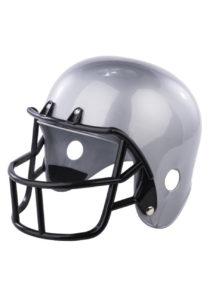 casque footballeur américain, casque football américain, Casque de Footballeur Américain, Argent