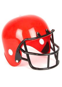 casque footballeur américain, casque football américain, Casque de Footballeur Américain, Rouge