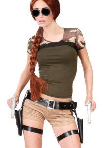 lara croft, holsters lara croft, pistolets lara croft, étuis de pistolets, étuis de révolver, étuis et ceinture lara croft, ceinture lara croft, Ceinture Holster Lara Croft, Avec Pistolets