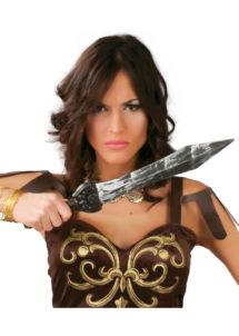 faux couteau, couteau de boucher factice, arme factice, fausses armes, faux couteau de déguisement, armes de déguisements, fausses armes, faux couteau de boucher, couteau de boucher en plastique, faux poignard, fausse arme romaine, arme romaine en plastique, poignard factice, Couteau Antique